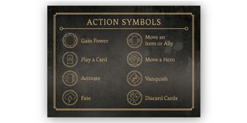 Action symbols villainous