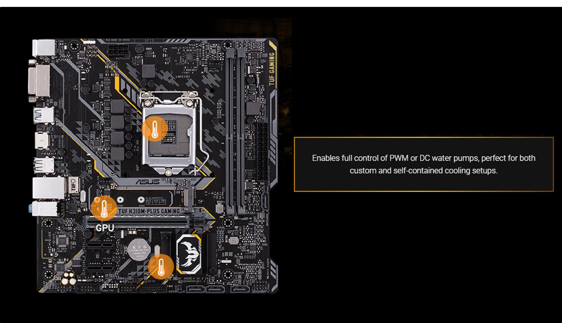 Asus Tuf H310 Plus Gaming Lga1151 Intel Ddr4 Sata3usb31 M Electric Circuit Board Processor Tshirts View Larger