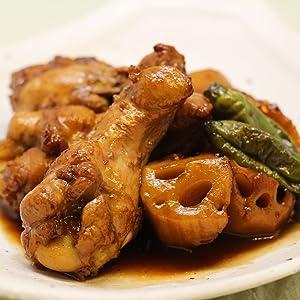 鶏肉とれんこんの黒酢煮