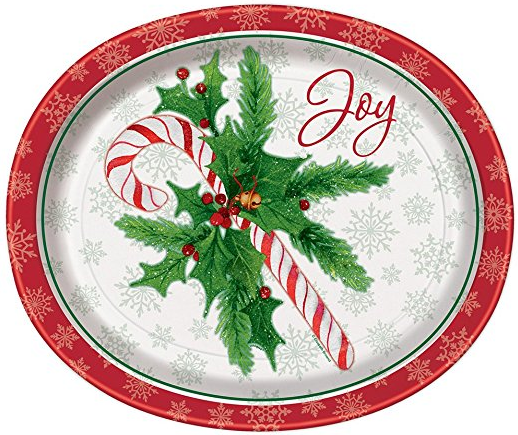 Candy Cane Christmas Oval Paper Plates 8ct · Red Beverage Napkins 20ct · 9oz Candy Cane Christmas Party Cups 8ct · 12oz Red Paper Cups 10ct · 12oz Clear ...  sc 1 st  Amazon.com & Amazon.com: Candy Cane Christmas Oval Paper Plates 8ct: Kitchen ...
