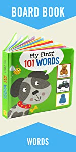 My First 101 WORDS Padded Board Book