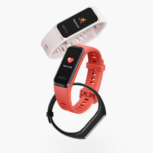 2.5D colourful touch screen smart band