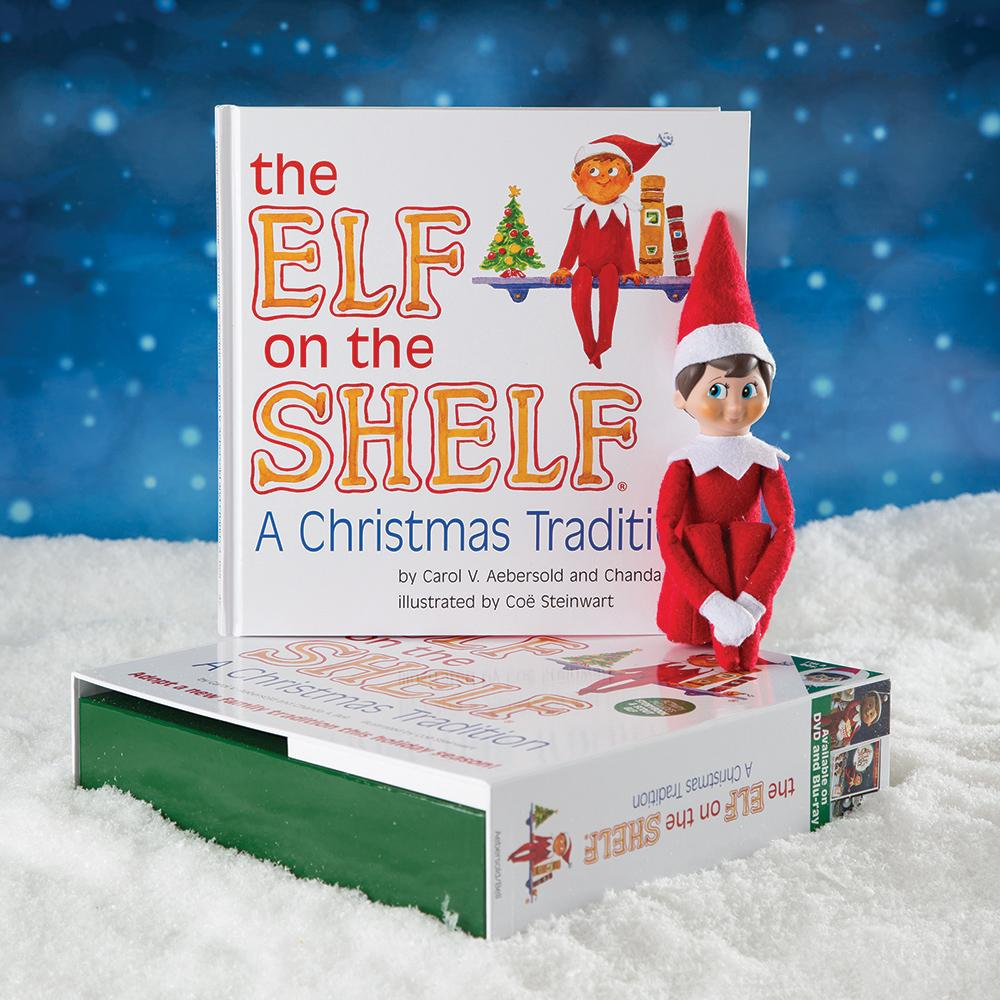 elf on the shelf a christmas tradition blue eyed boy carol v