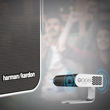 Dual Harmon Kardon Speakers