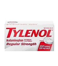 acetaminophen, regular strength tylenol, tylenol, pain relief