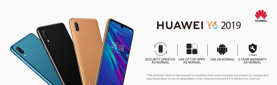huawei y6 2019 android smart phone