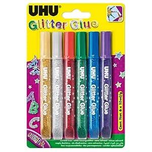 Glitter, Uhu