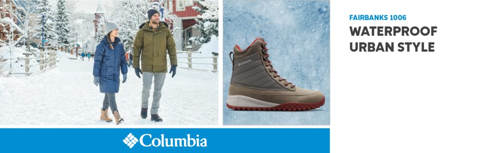 Columbia Mens FairbanksTM 1006 Snow Boot