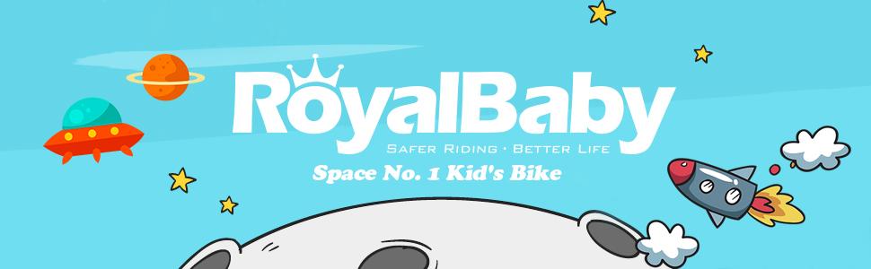 RoyalBaby Space No. 1 Kid's Bike