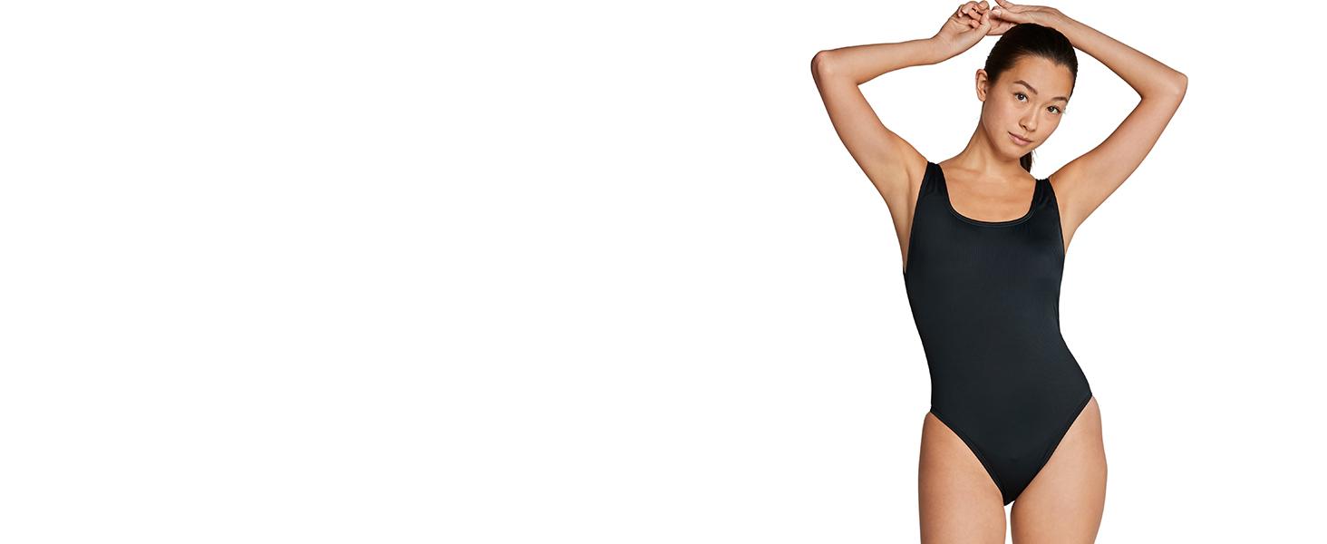 Speedo, women's swimwear, one-piece swimwear
