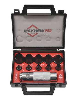 MayhewPro 66008 Hollow Punch Set