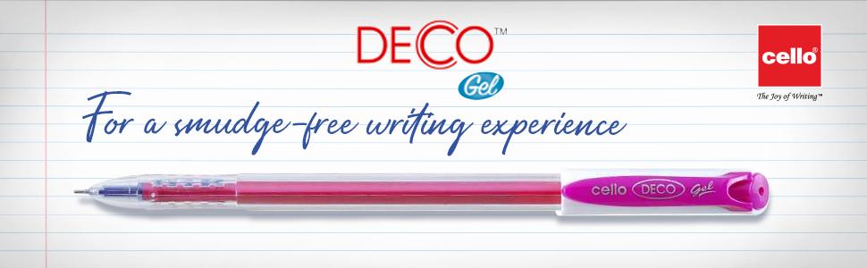 Cello   Deco Gel Pen Jar   Pen Set   Exam Pens   Best pens in India