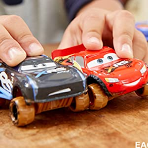 Disney Pixar Cars XRS Mud Racing Vehicle Assortment 1:55 scale Die-Casts, Real Suspensions, Off-Road