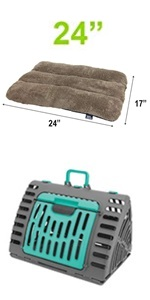 cat carrier with bed, cat carrier,