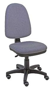 Silla de escritorio Torino- color gris