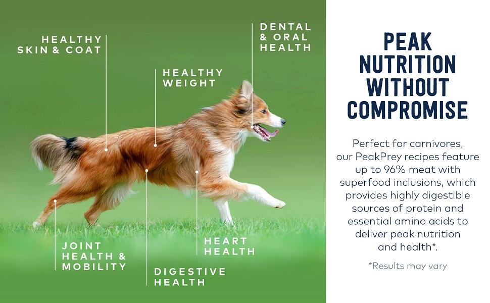 ziwi healthy superfood healthy skin coat dental teeth clean joint hip mobility agility heart vital
