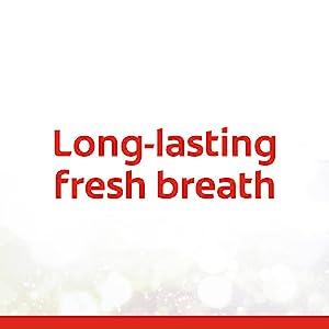 Long-lasting fresh breath