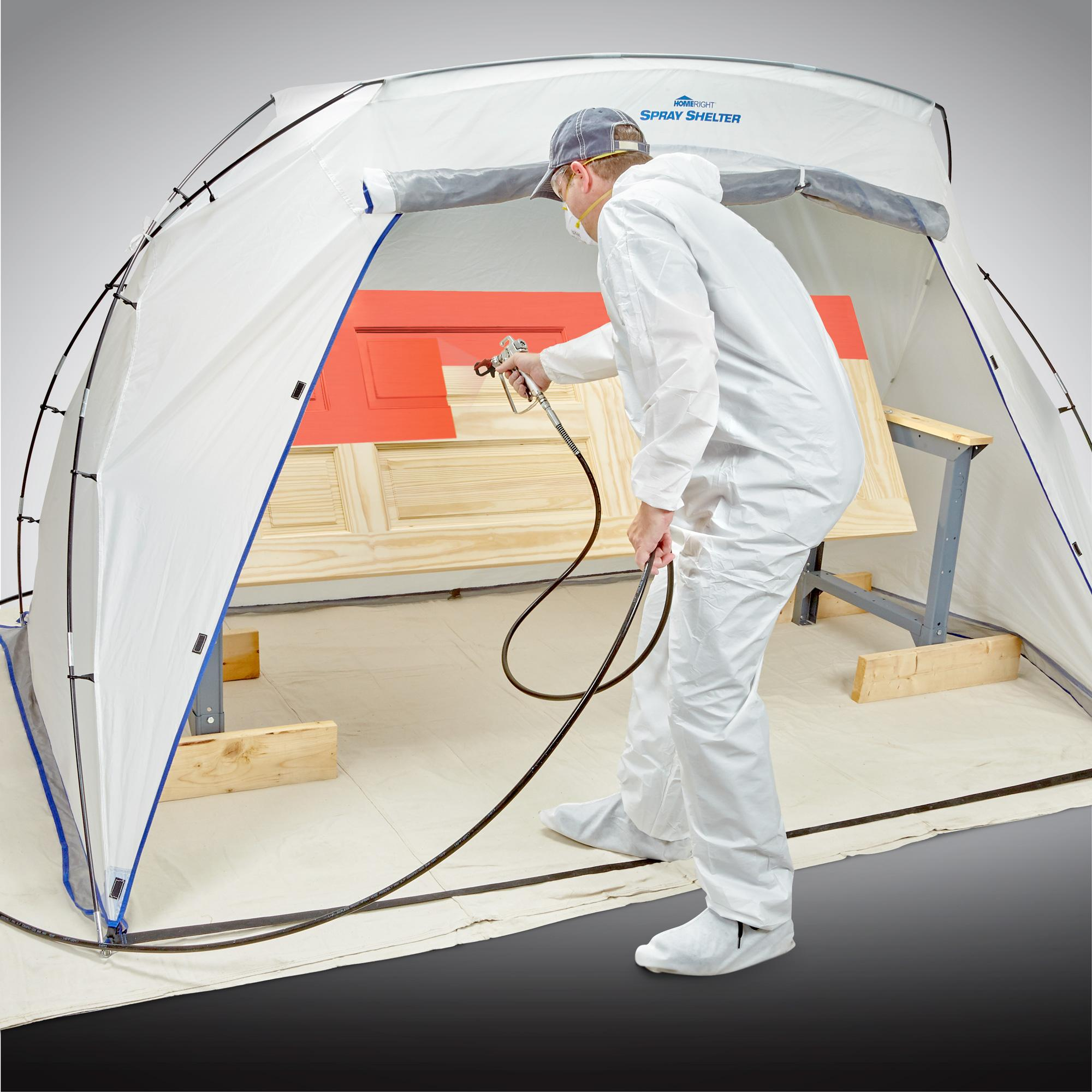 Amazon Com Homeright Large Spray Shelter C900038 Portable