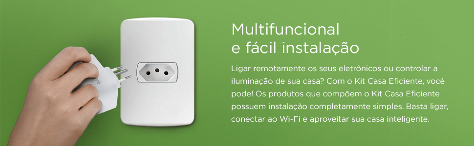 Kit casa eficiente IOT Positivo Casa inteligente