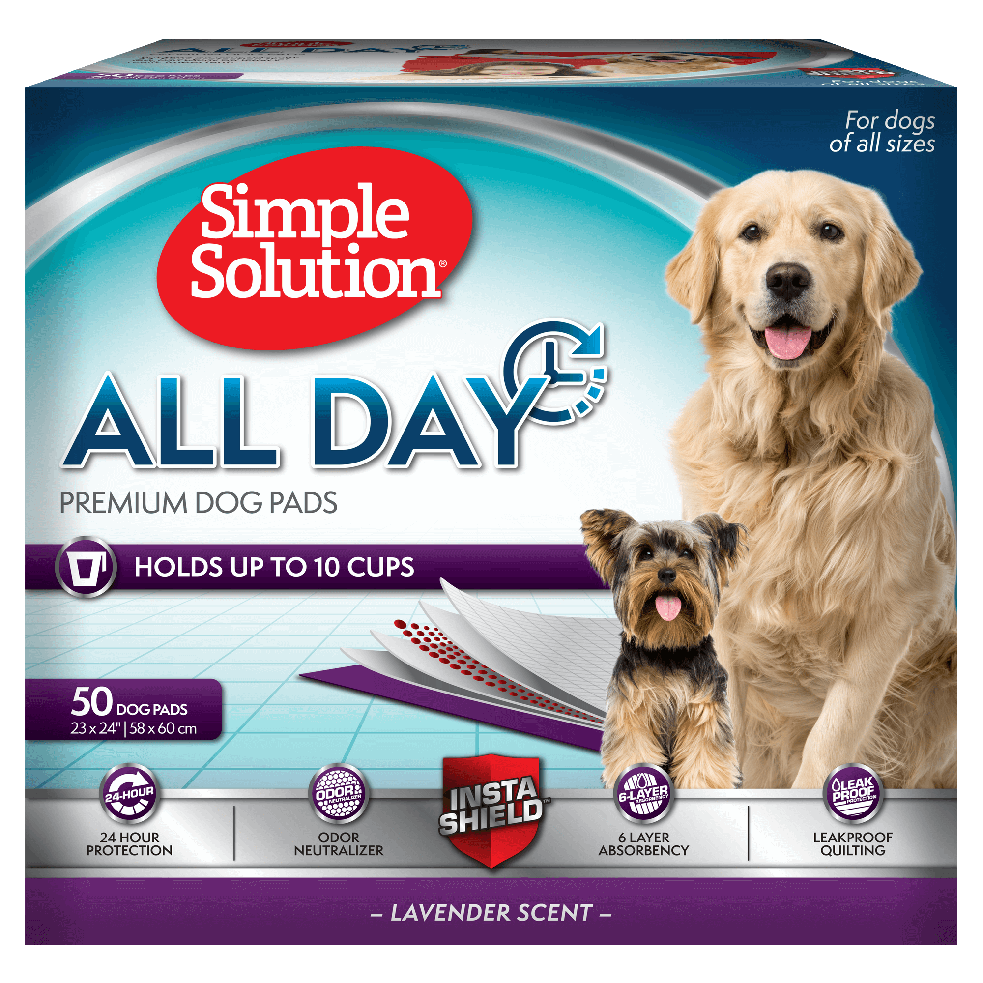 Simple Solution Dog Training Pads 100 Pack Amazon Pet