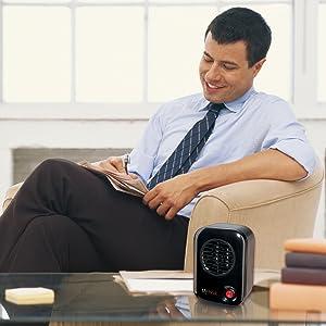 laskop my heat personal desk office space heater