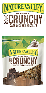 Nature valley granola crunchy oats & dark chocolate
