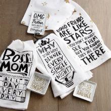 Primitives by Kathy dish tea kitchen towels cotton funny sarcastic home decor gift