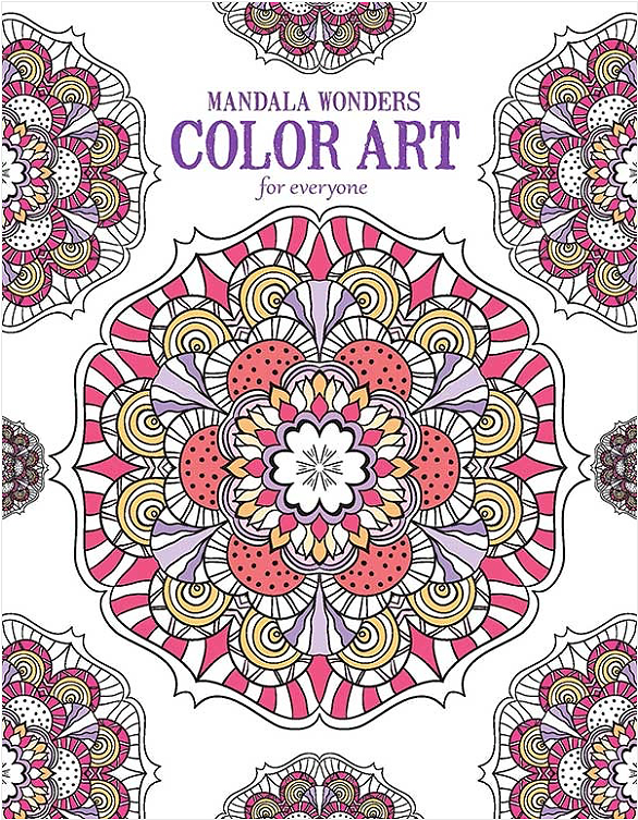 Amazon.com: Mandala Wonders | Color Art for Everyone - Leisure ...