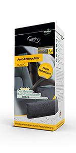 Thomar 604230 Airdry Duo Auto Entfeuchter 2er Set 2 X 600g Luftentfeuchter Wiederverwendbar Schützt Vor Beschlagenen Auto Scheiben Nimmt Bis 1000 Ml Feuchtigkeit Auf 80 Prozent Auto