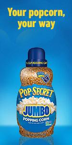 POP SECRET Jumbo Popcorn Kernels Jar