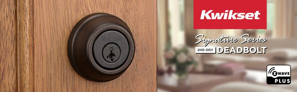 kwikste;deadbolt;door lock;front door;smart lock;zwave lock;round lock;round deadbolt;smartkey