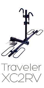 Traveler XC2 RV 2, bike rack, swagman, rv approved