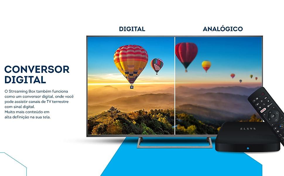 streaming conversor TV digital