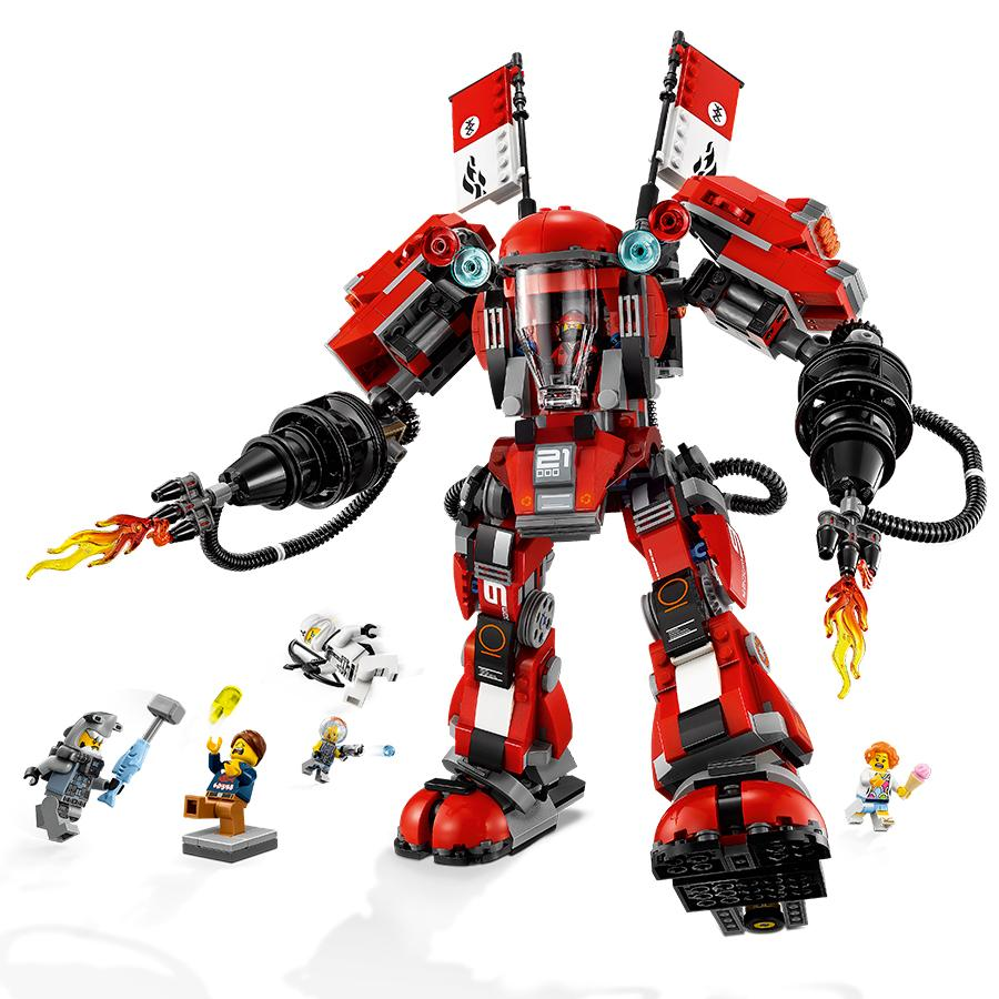 Lego ninjago movie fire mech 70615 building kit 944 piece toys games - Ninja ninjago ...