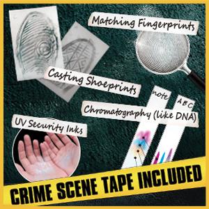 forensic science kits for kids,detective kit for kids,kids spy,kids spy kit,fingerprint kit for kids