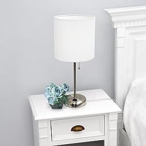 neutral bedside lamp
