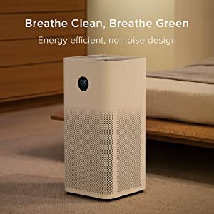 Breathe clean, energy efficient