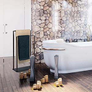 Ideal para toallas de lavabo, de baño o manoplas de baño