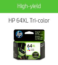 HP 64XL Tri-color