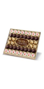 Ferrero Collection, Raffaello, Rond Noir, Ferrero Rocher, pralines, chocolates, box of chocolate