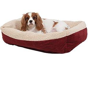 Petmate Aspen Pet Self-Warming Corduroy Pet Bed Several Shapes Assorted Colors - 80138