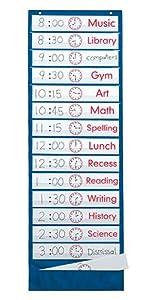 time, classroom, schedule, wall hanging, teacher