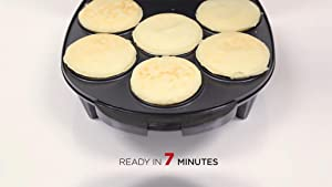 Amazon.com: Holstein Housewares HU-09005B arepa elé ...