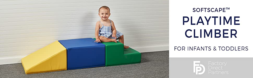 softscape, fdp, factory direct partners, climber, active play, toddler, babies, infant, playtime