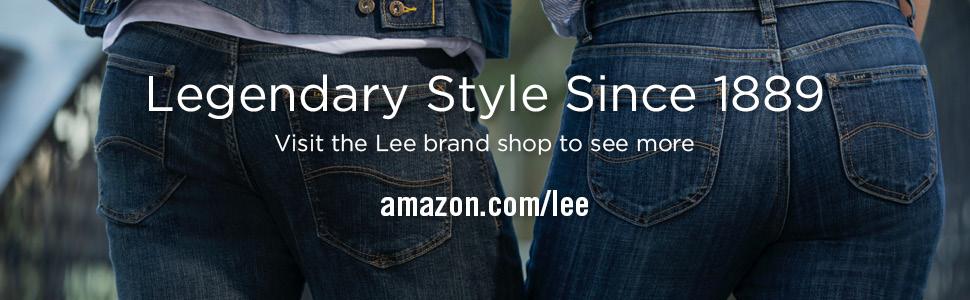 Lee Men's Premium Flex Denim Regular Fit