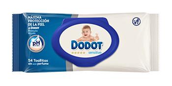 Perfetto in combinazione con le salviette Dodot Sensitive.