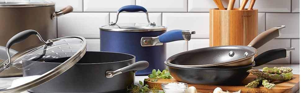 pots and pans, cookware, advanced