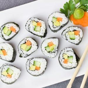 Sushi maki baguettes