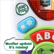 Weather Buttons with Sound Effects