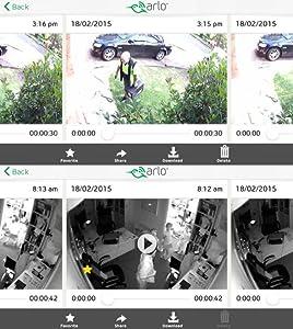 Arlo vms3330 telecamere di sicurezza wifi senza fili for Hd esterno non rilevato